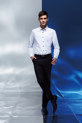 FLYING EAGLE 【襯衫 01】時尚流行素面男裝襯衫